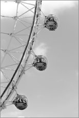 Holzbild  London Eye - Roland T. Frank