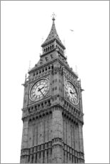 Holzbild  Big Ben, London - Nora Frei