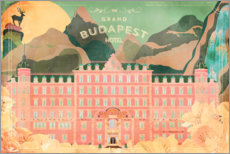 Obraz na drewnie  The Grand Budapest Hotel - Ella Tjader