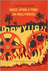 Leinwandbild  Once Upon a Time in Hollywood (Englisch) - chungkong