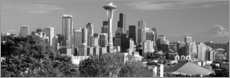 Premium-Poster  Skyline von Seattle