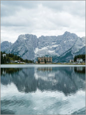 Premium-Poster Hotel am See