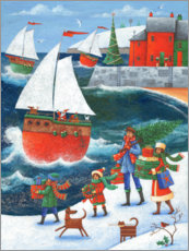 Gallery Print  Weihnachten am Meer - Peter Adderley
