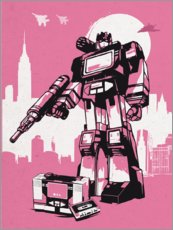 Premium-Poster Soundwave Transformer