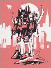 Premium-Poster Starscream Transformers
