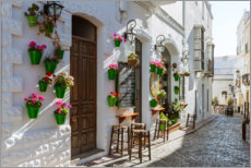 Gallery Print  Andalusische Gasse, Spanien - Matteo Colombo