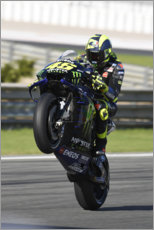 Gallery Print  Valentino Rossi, Yamaha Factory Racing, Valencia 2019