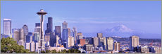 Gallery Print  Seattle Skyline - Jamie & Judy Wild