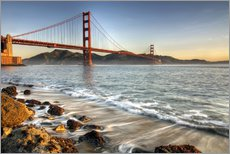 Gallery Print  Blick zur Golden Gate Bridge - David Svilar