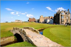 Bill Bachmann - Blick auf den Old Course Golfplatz in St. Andrews