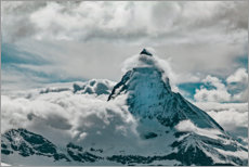 Wandsticker  Wolke am Gipfel des Mount Everest - Craig Kassover