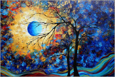 Wandaufkleber  eye of the universe - Megan Duncanson