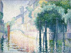 Wandsticker  Kanal in Venedig - Henri Edmond Cross