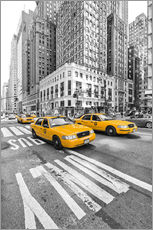 Wandsticker  New York Yellow Cab - Marcus Klepper