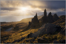 Wandsticker  Schottland - Isle of Skye - Old Man of Storr - Tobias Richter