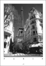 Wandsticker  Paris - ARTSHOT - Photographic Art