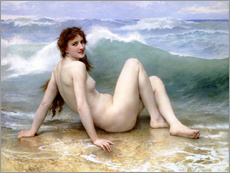 Gallery Print  Die Welle - William Adolphe Bouguereau