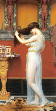 Wandsticker  Im Bad - John William Godward