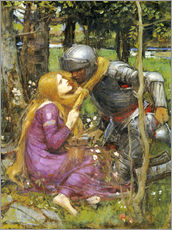 Gallery Print  Eine Studie für La Belle Dame sans Merci - John William Waterhouse