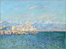 Premium-Poster  Fort in Antibes - Claude Monet