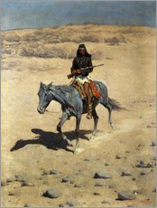 Gallery Print  Apache Indianer - Frederic Remington