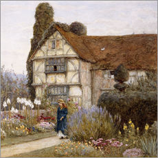 Gallery Print  Altes Herrenhaus - Helen Allingham