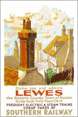 Wandsticker  Come see and admire Lewes - Gregory Brown