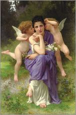 Gallery Print  Frühlingsmelodie - William Adolphe Bouguereau