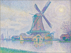 Gallery Print  Moulin d'Edam, 1896 - Paul Signac