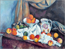 Leinwandbild  Nature morte - Paul Cézanne