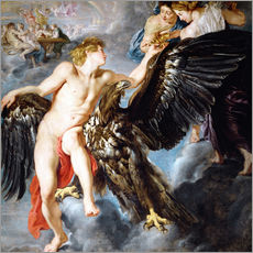 Gallery Print  Raub des Ganymed - Peter Paul Rubens
