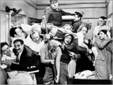 Wandsticker  The Marx Brothers, 1935