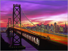 Gallery Print  Bay Bridge in San Francisco - Paul Thompson
