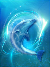 Gallery Print  Delfin Energie - Dolphins DreamDesign