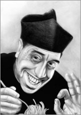 Gallery Print  Don Camillo Pasta Spaghetti - Stefan Kahlhammer