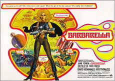 Wandsticker  Barbarella