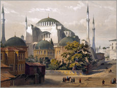 Wandsticker Turkey: Hagia Sophia, 1852.