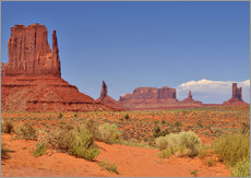 Wandsticker  Monument Valley I - Melanie Viola