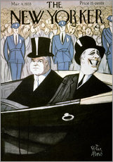 Gallery Print  Hoover & F.d. Roosevelt - Peter Arno