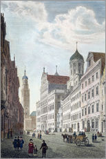 Gallery Print  Augsburg, 1822. - Robert Batty