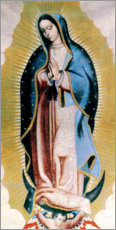 Gallery Print  The Virgin Of Guadalupe
