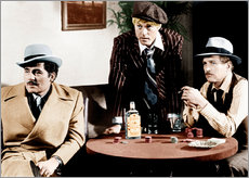 Gallery Print  THE STING, Robert Shaw, Robert Redford, Paul Newman