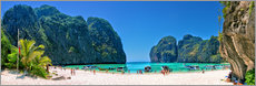 Gallery Print  Maya Bay - The Beach - Thailand - Stefan Becker