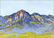 Gallery Print  Dents Blanches bei Champéry - Ferdinand Hodler