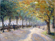 Gallery Print  Hyde Park, London. 1890 - Camille Pissarro