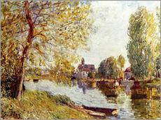 Gallery Print  Frühling in Moret-sur-Loing - Alfred Sisley