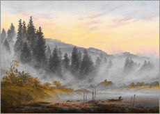 Wandsticker  Der Morgen - Caspar David Friedrich