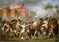 Gallery Print  Die Sabinerinnen - Jacques-Louis David