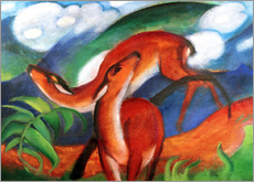 Gallery Print  Rote Rehe II - Franz Marc