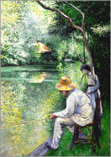 Gallery Print  Angler - Gustave Caillebotte